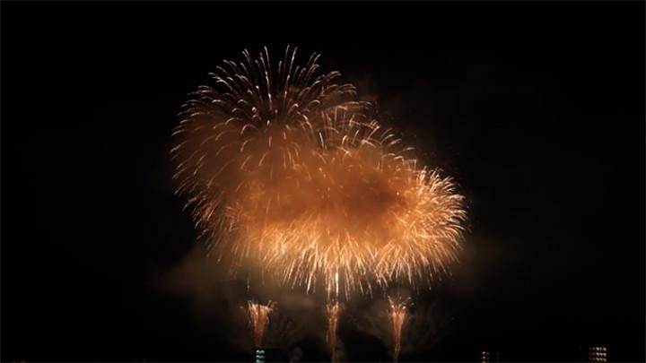 2016年 亀川夏まつり花火大会